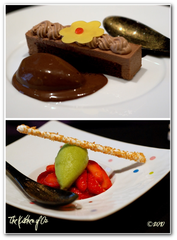 Fine dining in paris the kitchen of oz a food blog - La table a dessert ...