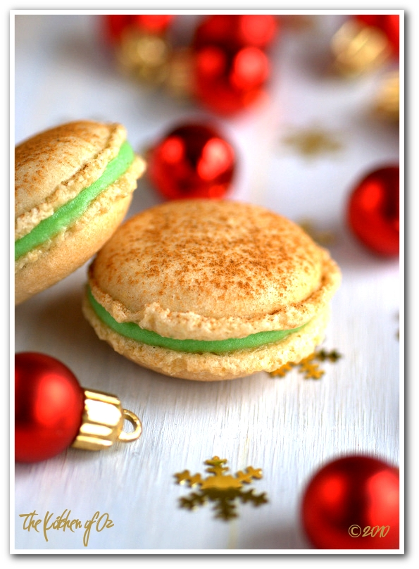 Ginger and Apple Macarons